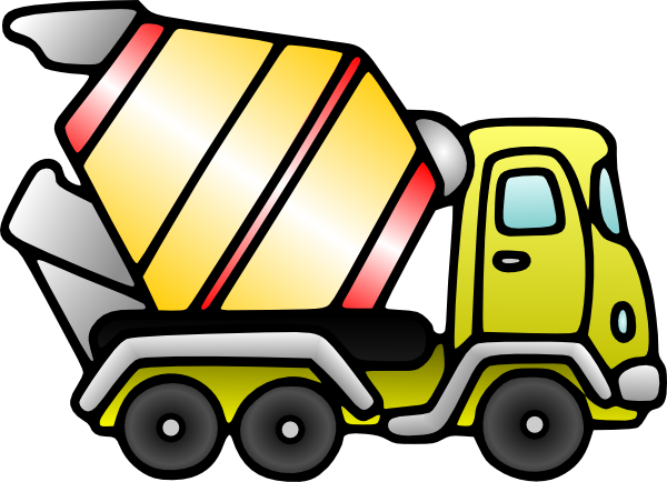 Free Construction Truck Pictures, Download Free Clip Art, Free Clip ... graphic black and white download