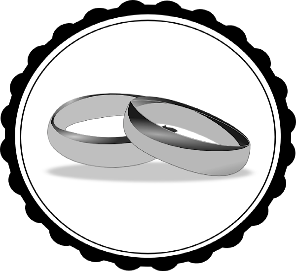 3d cross clipart graphic free stock Wedding Ring Clipart Black And White | Clipart Panda - Free Clipart ... graphic free stock