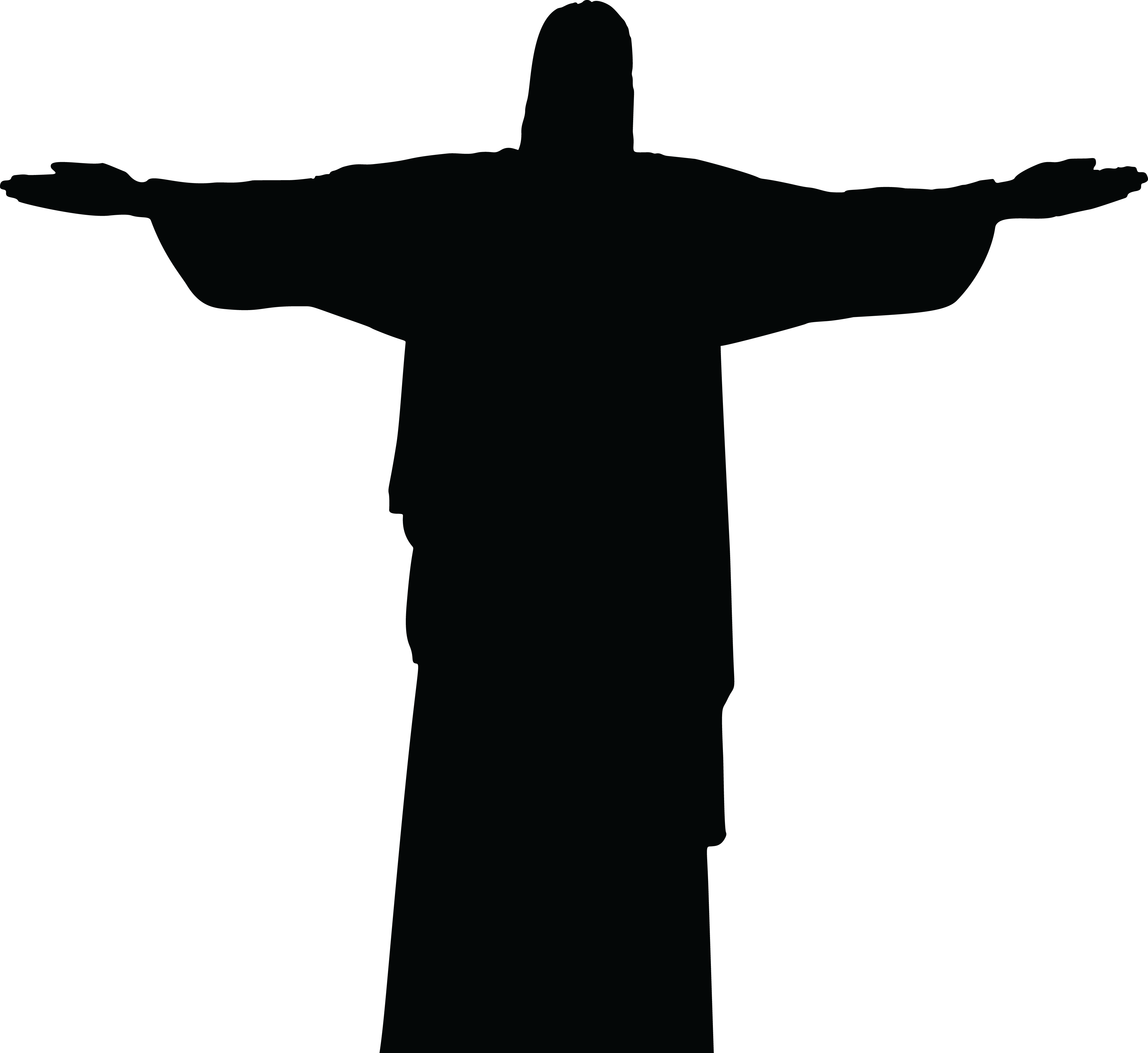 Jesus on the cross clipart images banner freeuse Jesus Carrying Cross Silhouette at GetDrawings.com | Free for ... banner freeuse