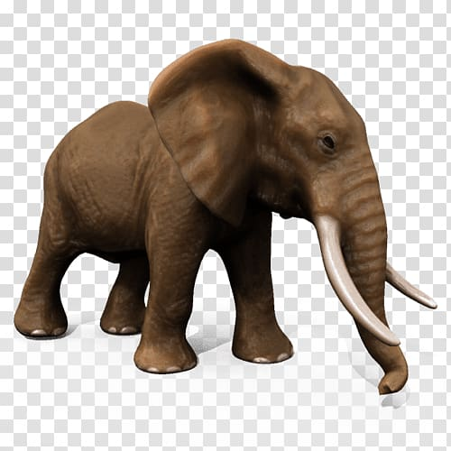 3d elephant clipart picture transparent library African elephant Asian elephant Animal 3D modeling, elephant rabbit ... picture transparent library