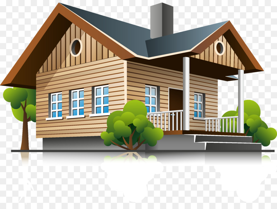 3d elevation clipart vector free library Real Estate Background png download - 2300*1705 - Free Transparent ... vector free library