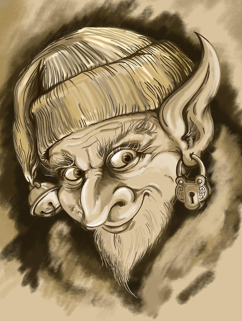 3d evil gnome clipart clip art library download Evil elf | creative art/art projects | Elf drawings, Leprechaun ... clip art library download