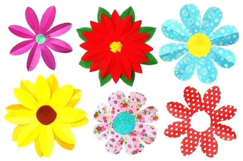 3d flowers clipart craft stock 3d flower project – amevec.co stock