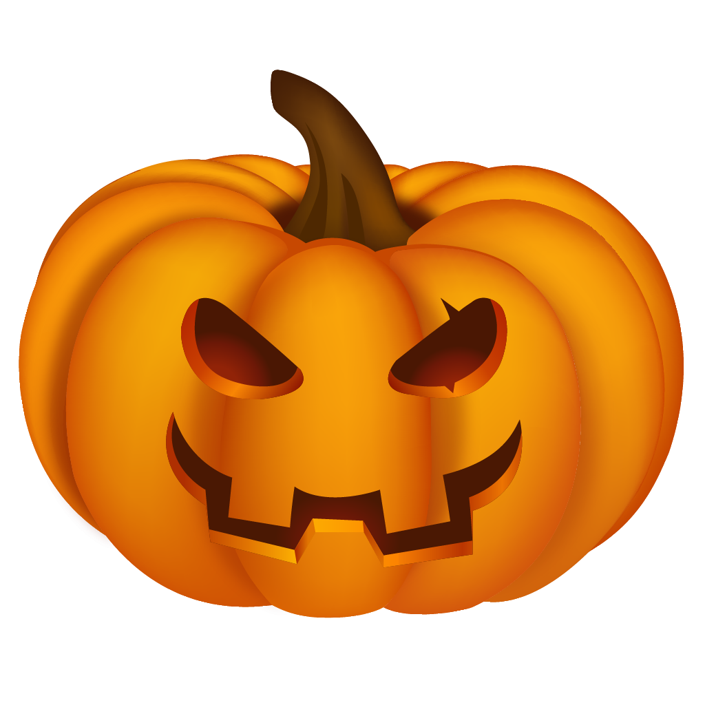 Realistic pumpkin clipart royalty free library Halloween Pumpkin PNG 3D royalty free library