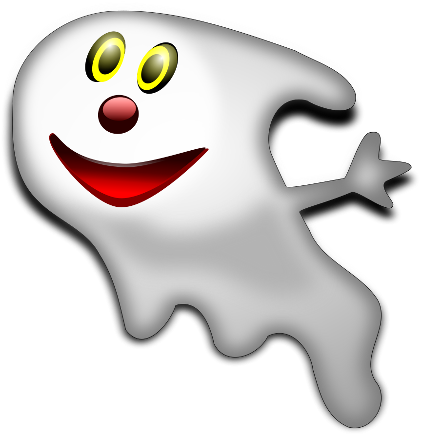 3d halloween clipart image freeuse stock Halloween Ghost 2 Clipart, vector clip art online, royalty free ... image freeuse stock