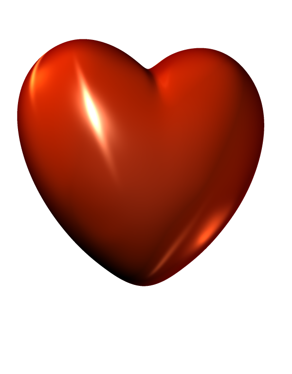 Christmas hearts clipart jpg transparent 3d Heart Clipart jpg transparent