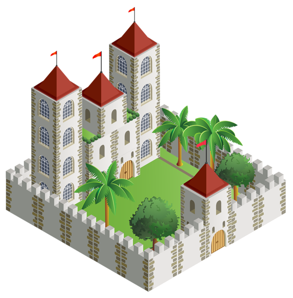 3d house clipart banner royalty free 3D Castle Castle PNG Clipart Image | png | Pinterest | Clipart ... banner royalty free
