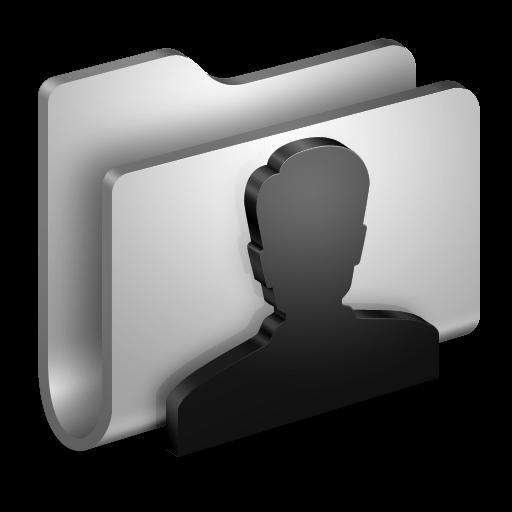 3d icon clipart clip art freeuse stock 3D User Folder White Icon, PNG ClipArt Image | IconBug.com clip art freeuse stock