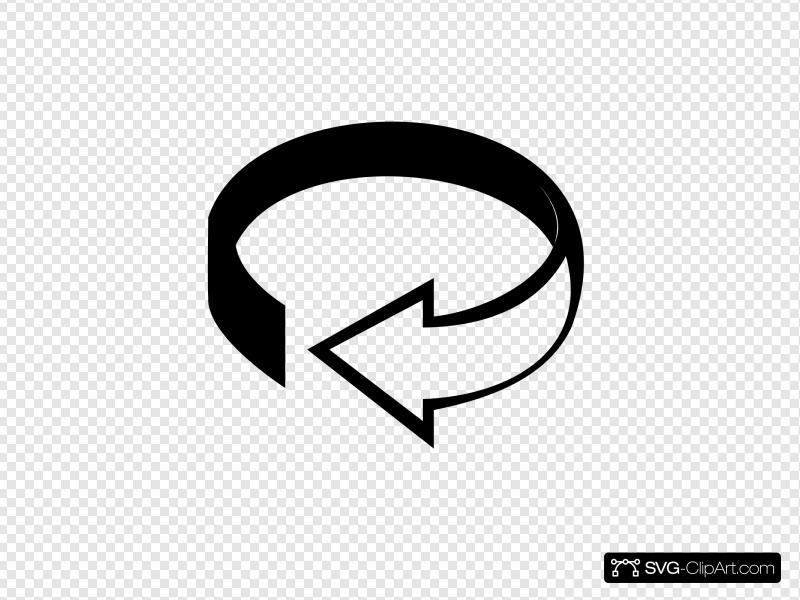 3d icon clipart clipart transparent Rotate 3d Icon Clip art, Icon and SVG - SVG Clipart clipart transparent