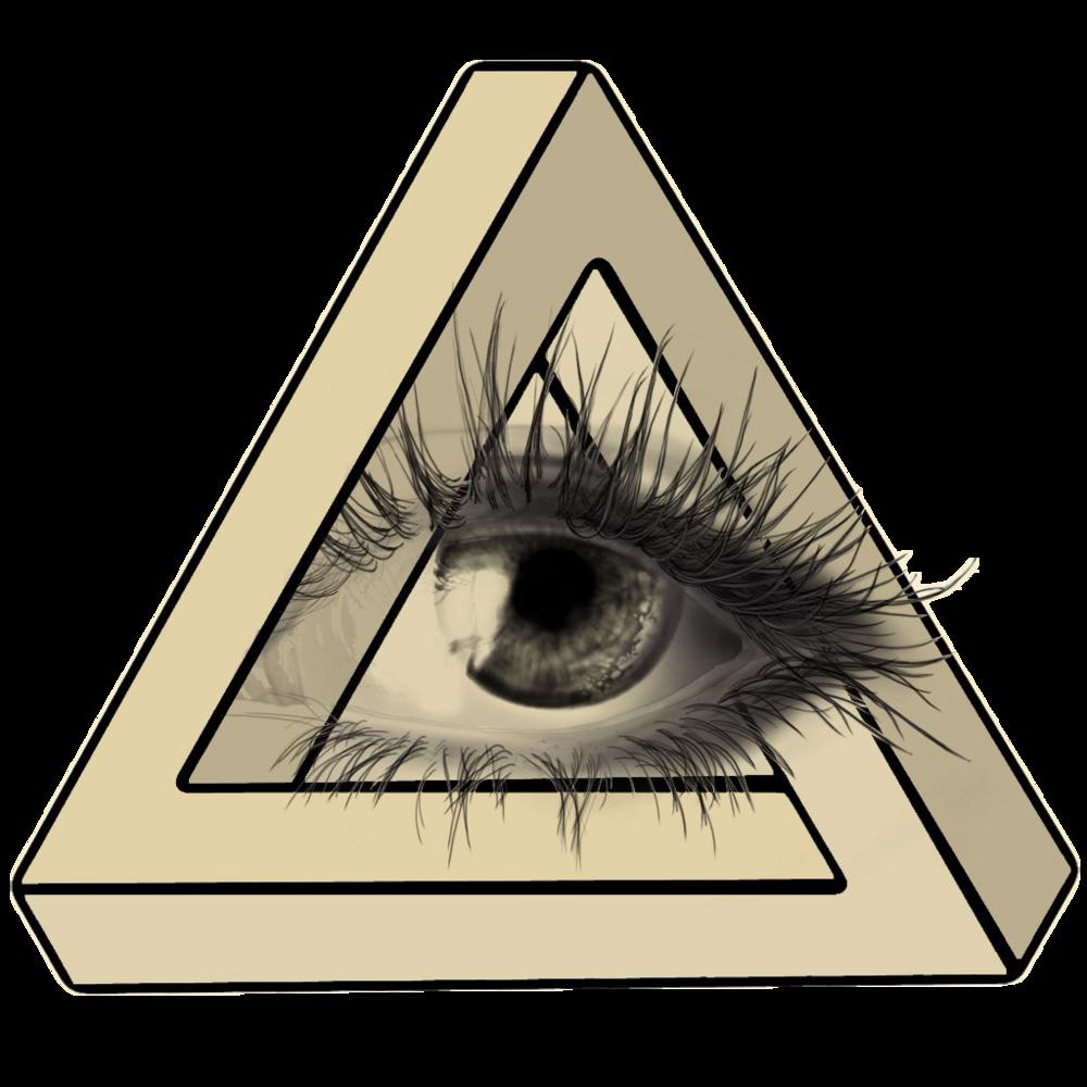 3d illlusion clipart mason jar banner royalty free stock Download Eye Penrose Illusion Optical Triangle Drawing Clipart PNG ... banner royalty free stock