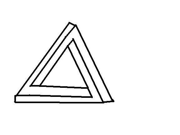 3d illlusion clipart mason jar banner royalty free stock Triangle Illusion: 6 Steps banner royalty free stock