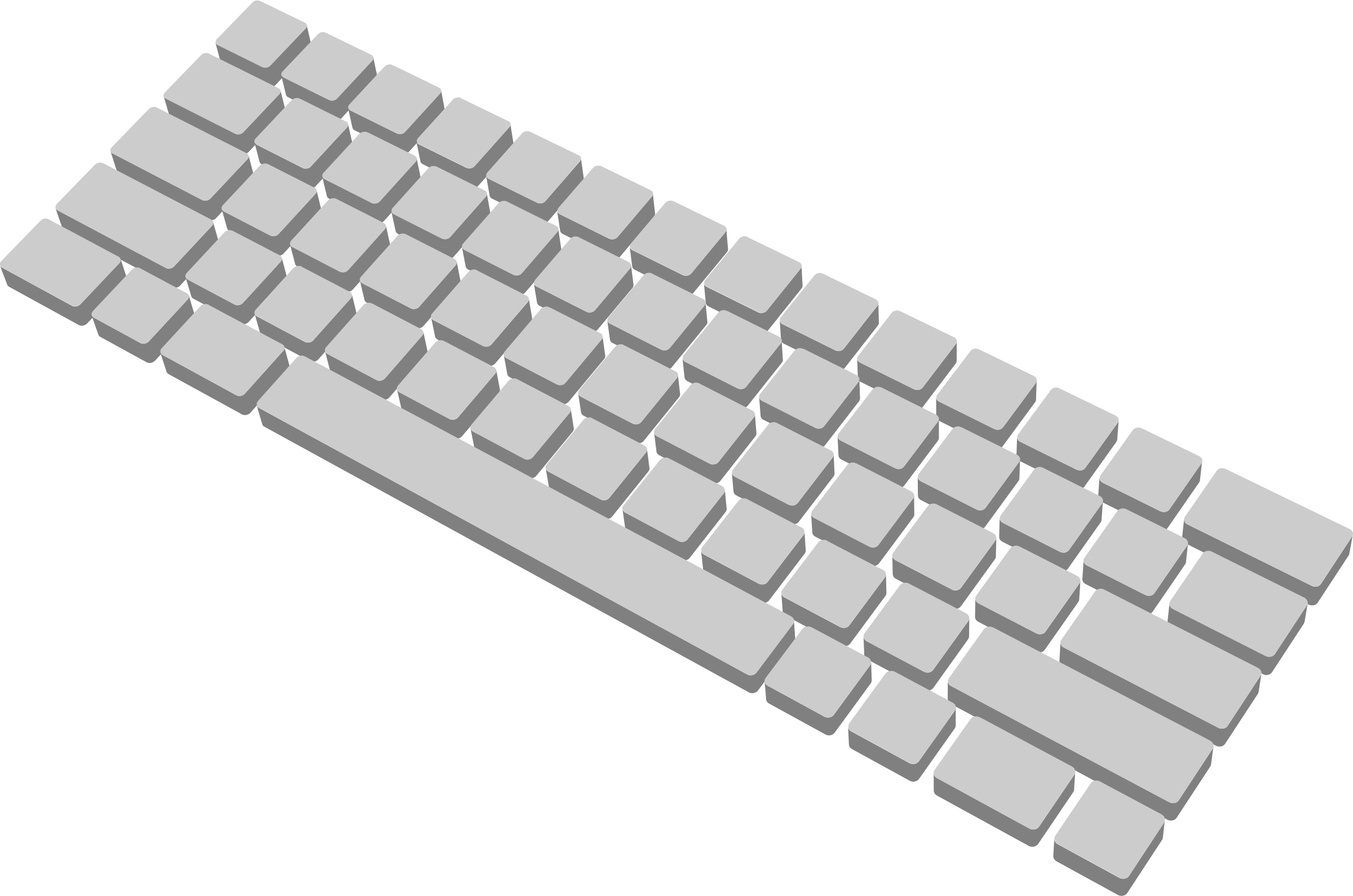 3d keyboard computer clipart.  d clipartfest big