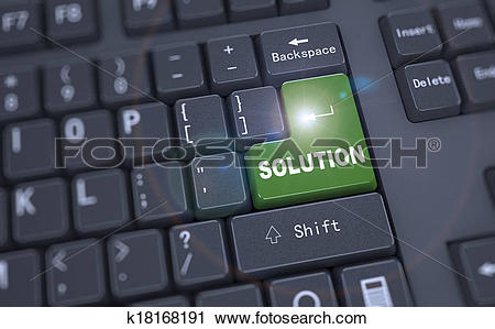 3d keyboard computer clipart clipart black and white stock Clipart of 3d keyboard - word solution k18168191 - Search Clip Art ... clipart black and white stock