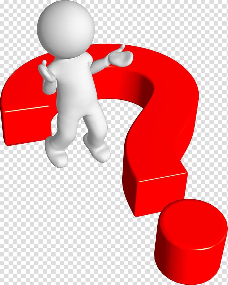 3d man phone clipart jpg black and white download Red and white question mark , Question mark Person, 3d Man Phone ... jpg black and white download