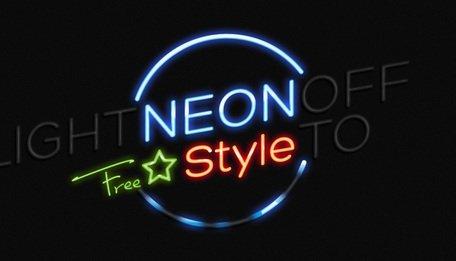 3d neon lights clipart vector png psd