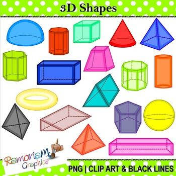 3d objects clipart jpg library stock Free 3D Shape Cliparts, Download Free Clip Art, Free Clip Art on ... jpg library stock