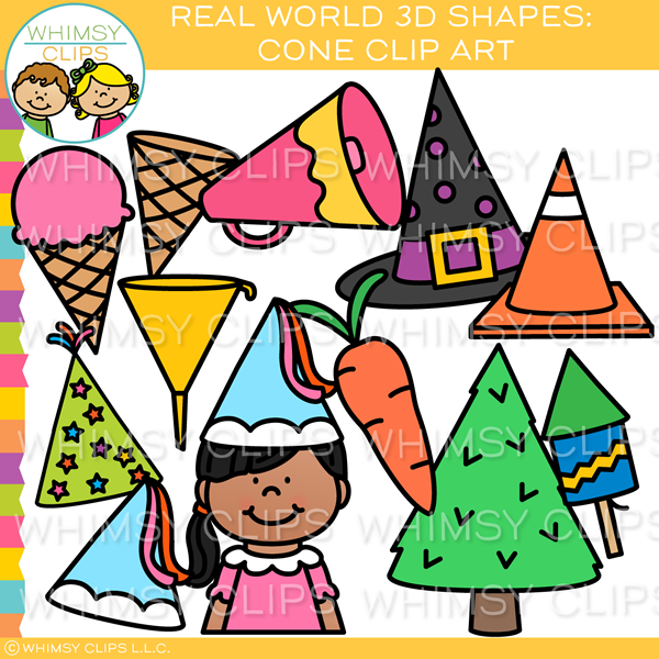 3d objects clipart jpg freeuse download Real World 3D Cone Clip Art jpg freeuse download