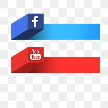 Social Media Youtube Video, Png, Banner Vector, Color PNG ... clipart free library