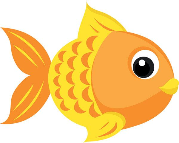 Goldfish cartoon clipart graphic freeuse library cute fishing cartoons | Goldfish Vector -4_Download free vector,3d ... graphic freeuse library