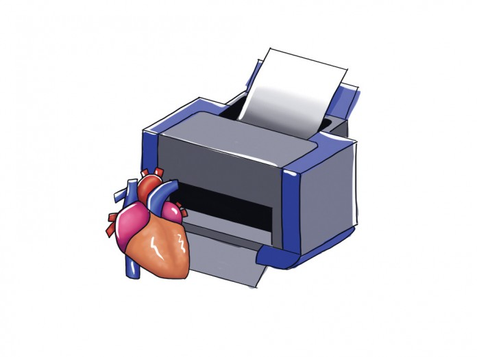 3d organ printing clipart picture black and white library New Developments in 3D Printing Promise to Create Human Organs | The ... picture black and white library