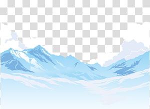 3d paper snow cap clipart jpg freeuse download snow cap mountains transparent background PNG clipart   HiClipart jpg freeuse download