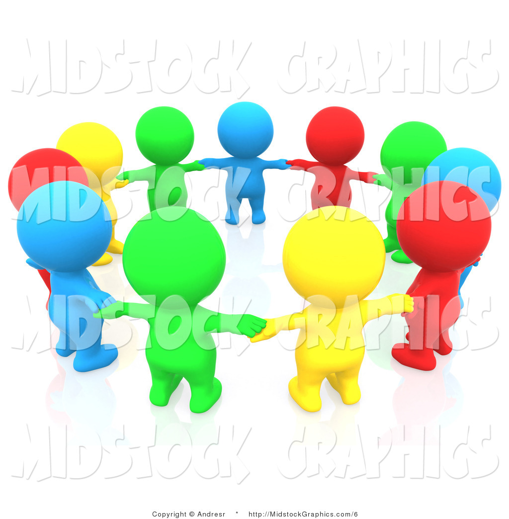 3d people clipart border picture freeuse stock Clip Art Group Of People Clipart - Clipart Kid picture freeuse stock