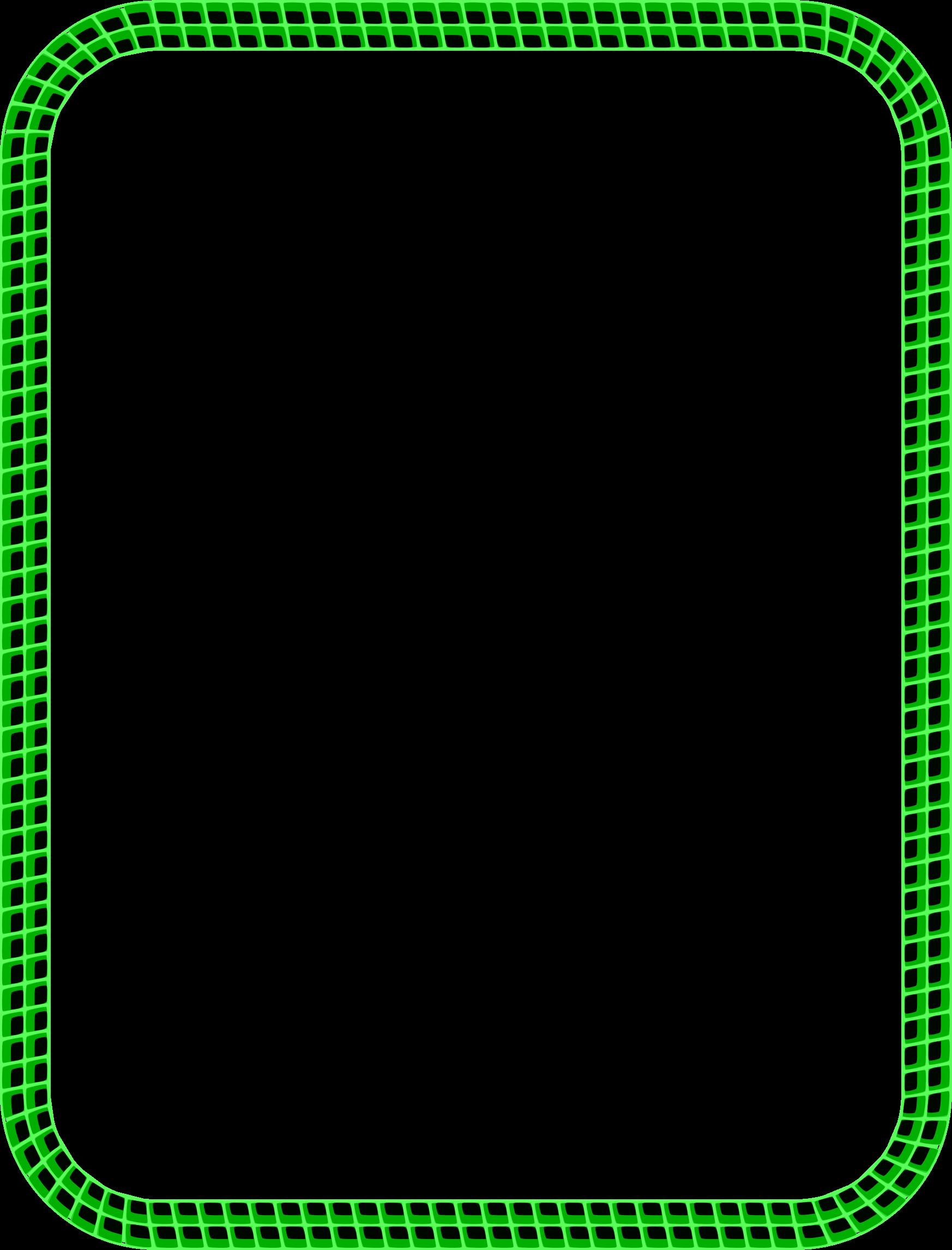 3d people clipart border picture transparent library Clipart - 3D Grid Border picture transparent library