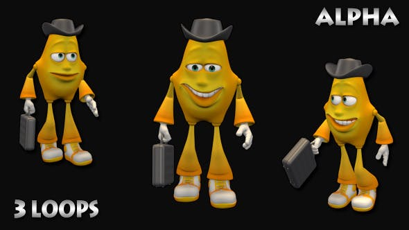 3d person walking clipart clip art library library Walk 3D Man Business (3 in 1) by CINEMULTIC | VideoHive clip art library library