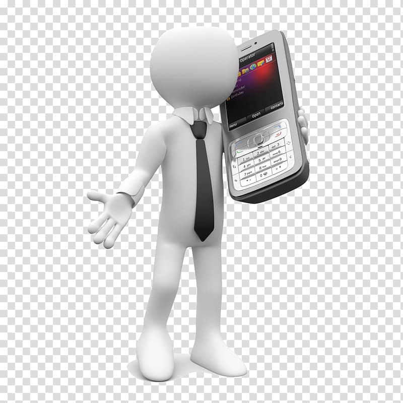 3d phone clipart banner black and white stock Mobile phone , Holding mobile phone 3D villain transparent ... banner black and white stock