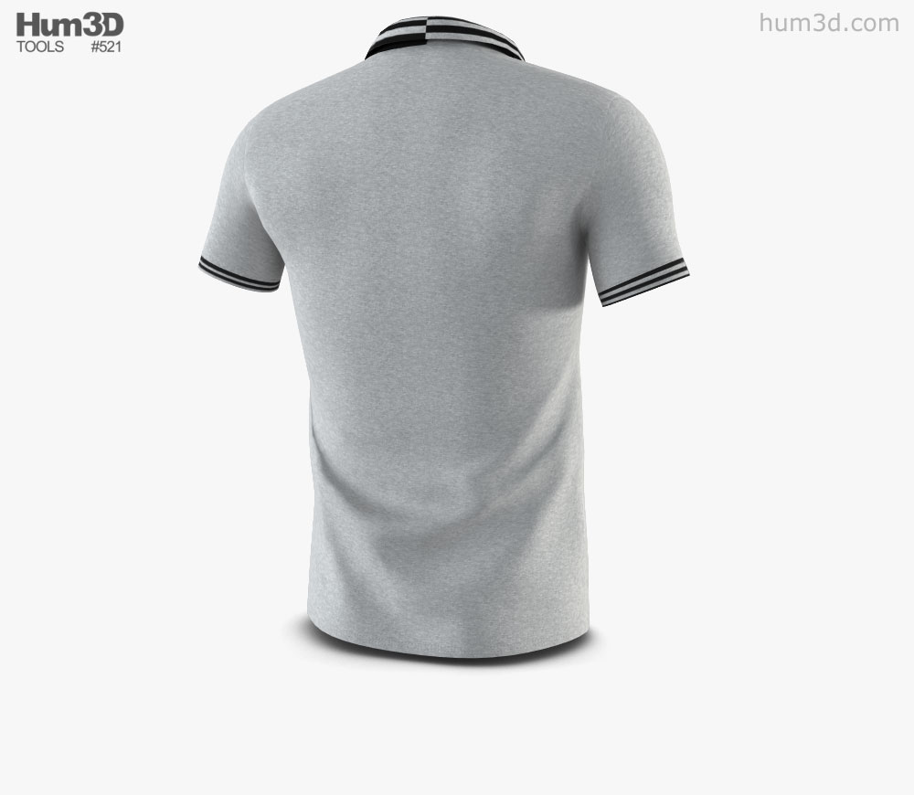3d polo clipart image freeuse Polo Shirt 3D model image freeuse
