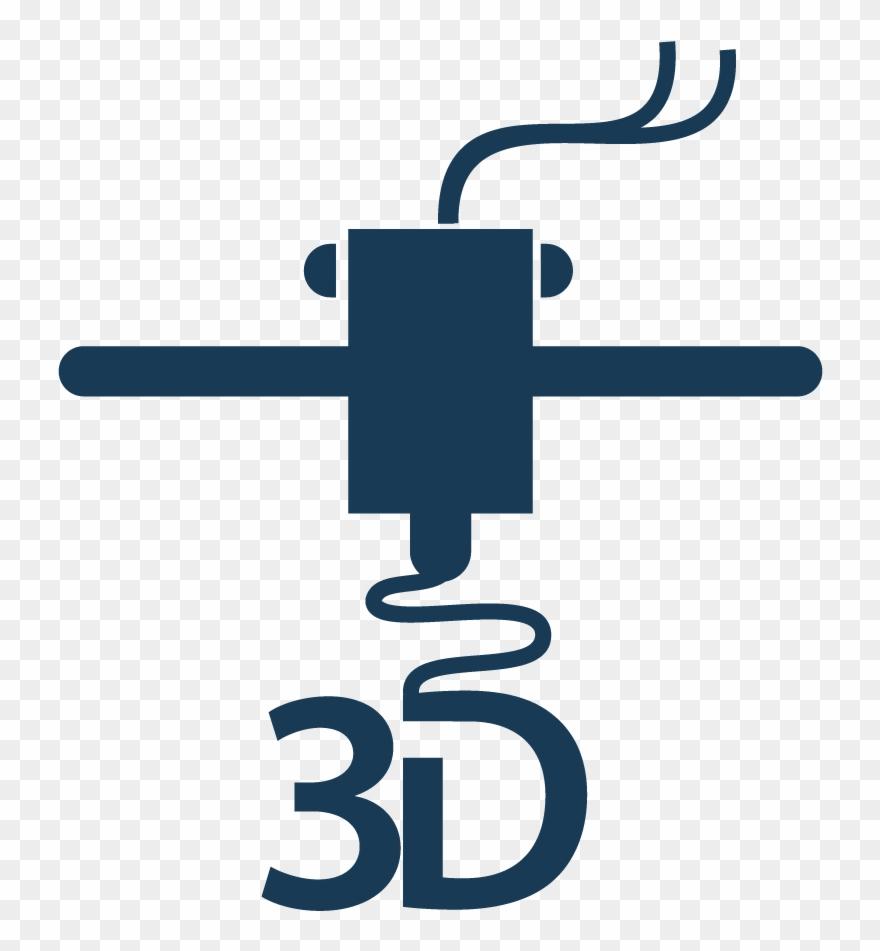 3d print clipart freeuse library 3d Printer - 3d Print Logo Png Clipart (#3347024) - PinClipart freeuse library