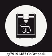 3d printing clipart banner freeuse stock 3D Printing Clip Art - Royalty Free - GoGraph banner freeuse stock