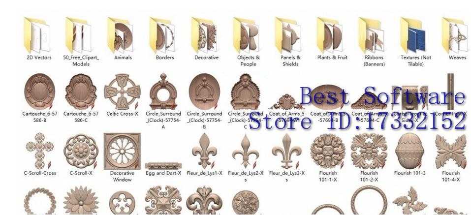 Vectric clipart 3d models png free download 2017 Vectric Aspire 3d Clipart Library Aspire Relief 3d Models Up To 3.7gb  In Total Fast Delivery From Tinyan, $16.09 | Dhgate.Com png free download