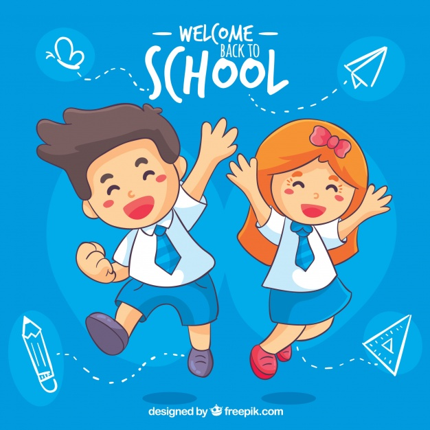 Free clipart kids happy to go back to school image transparent School Children Vectors, Photos and PSD files | Free Download image transparent