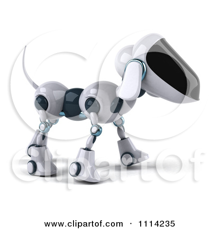 3d small dog clipart clipart royalty free Clipart 3d Robotic Dog Facing Left - Royalty Free CGI Illustration ... clipart royalty free