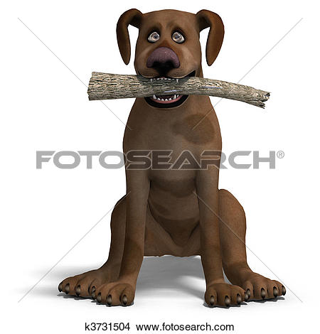 3d small dog clipart graphic royalty free download Clipart of Cerberus - the dog from hell. 3D rendering with ... graphic royalty free download