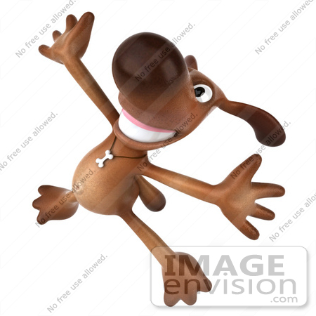 3d small dog clipart png stock Happy Dance Dog Clipart - Clipart Kid png stock