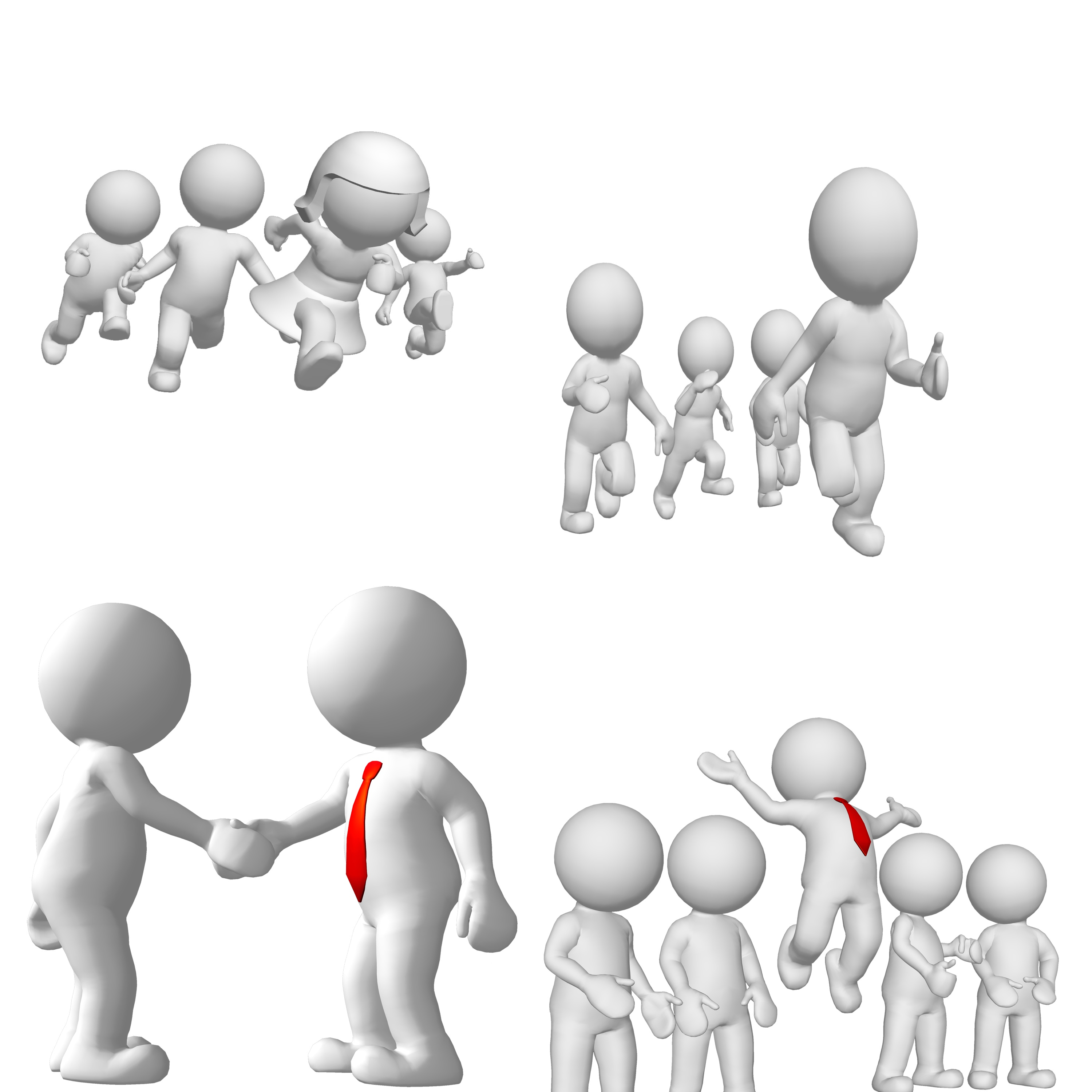 3d small people clipart jpg library library Stock Illustration 3d Small People Call By Telephone Clipart ... jpg library library