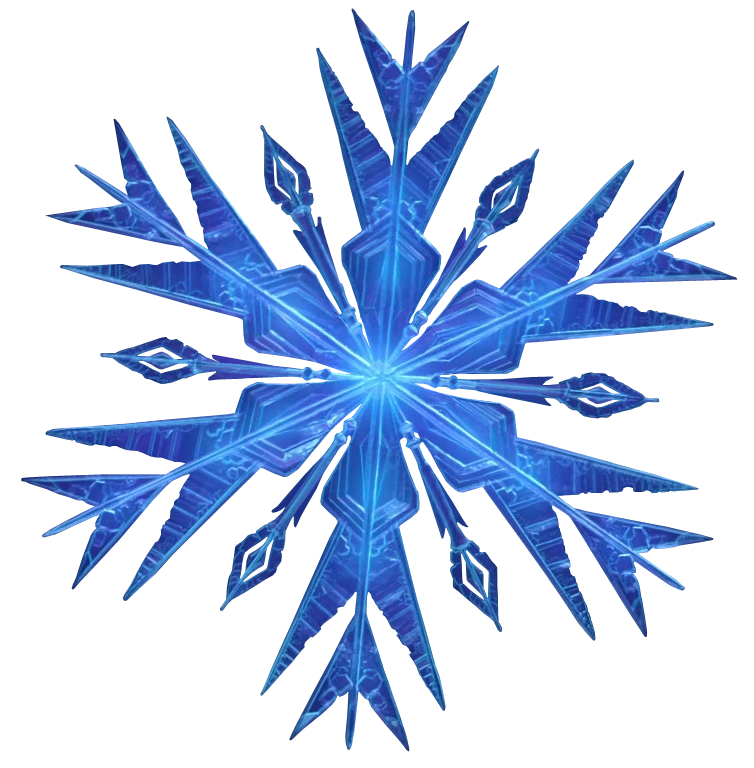 Blue snowflake clipart transparent background vector download snowflake frozen - Gecce.tackletarts.co vector download
