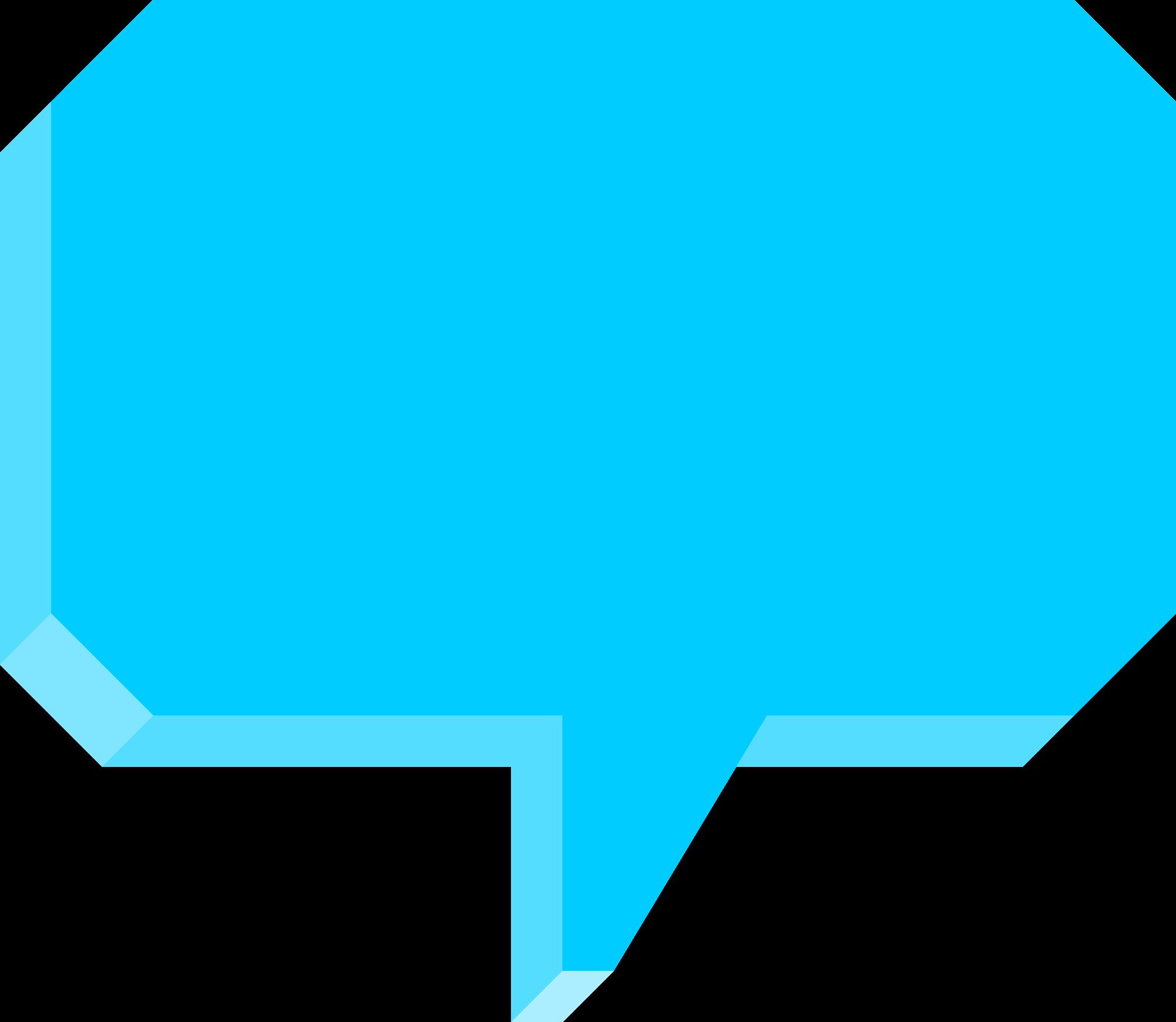 3d speech bubble clipart image library 3D Speech Bubble (PNG Transparent) | OnlyGFX.com image library