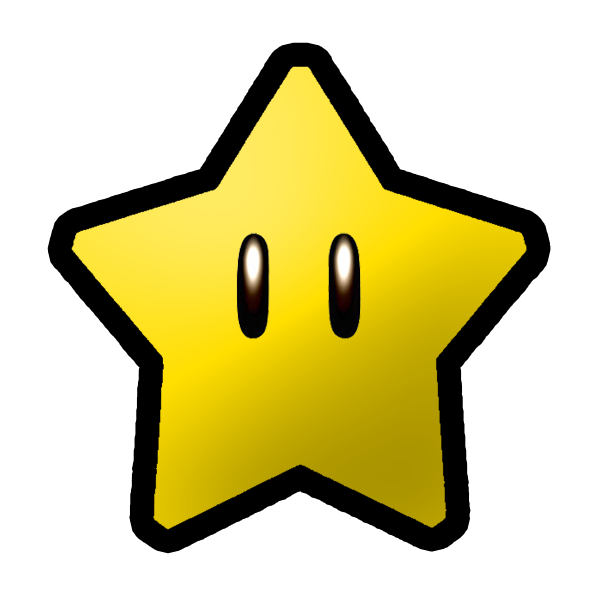 Star clipart 3d black and white stock Super Mario 3D World/Power Stars | Fantendo - Nintendo Fanon Wiki ... black and white stock