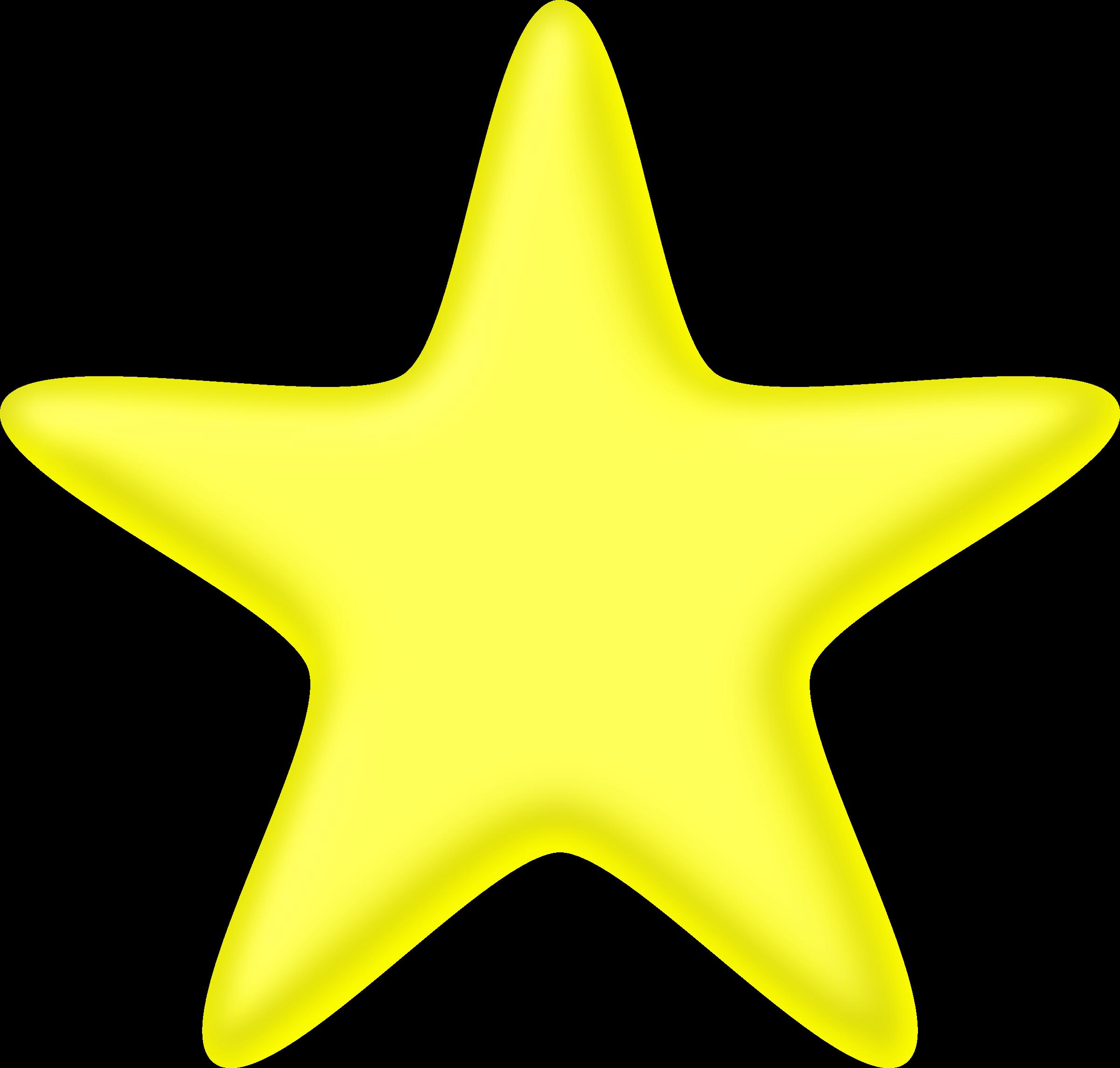 3d star clipart svg free download Clipart - 3D yellow star svg free download