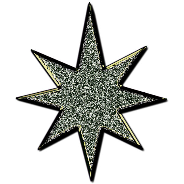 3d star clipart black and white jpg free library Star D Glitter Black | Free Images at Clker.com - vector clip art ... jpg free library