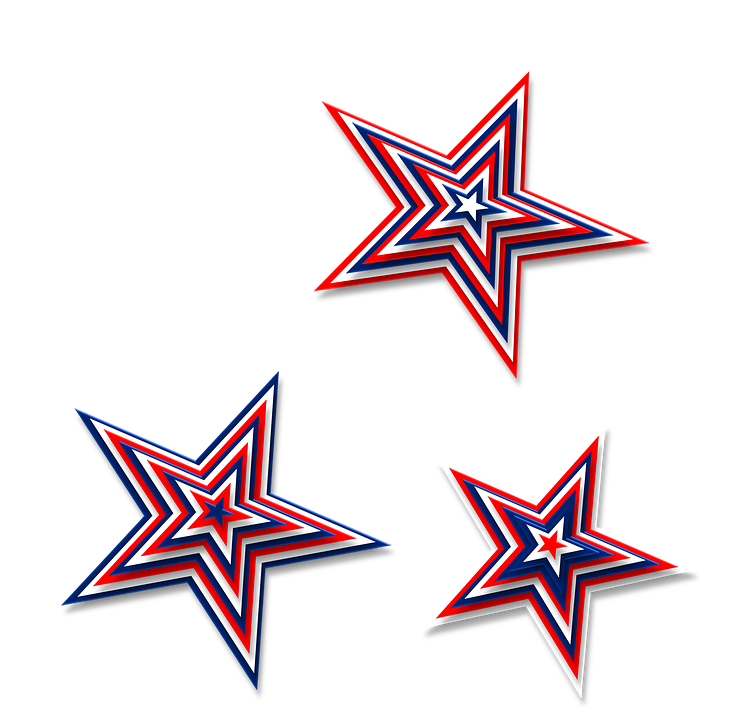 Red white and blue star border clipart vector free Red White And Blue Star PNG Transparent Red White And Blue Star.PNG ... vector free
