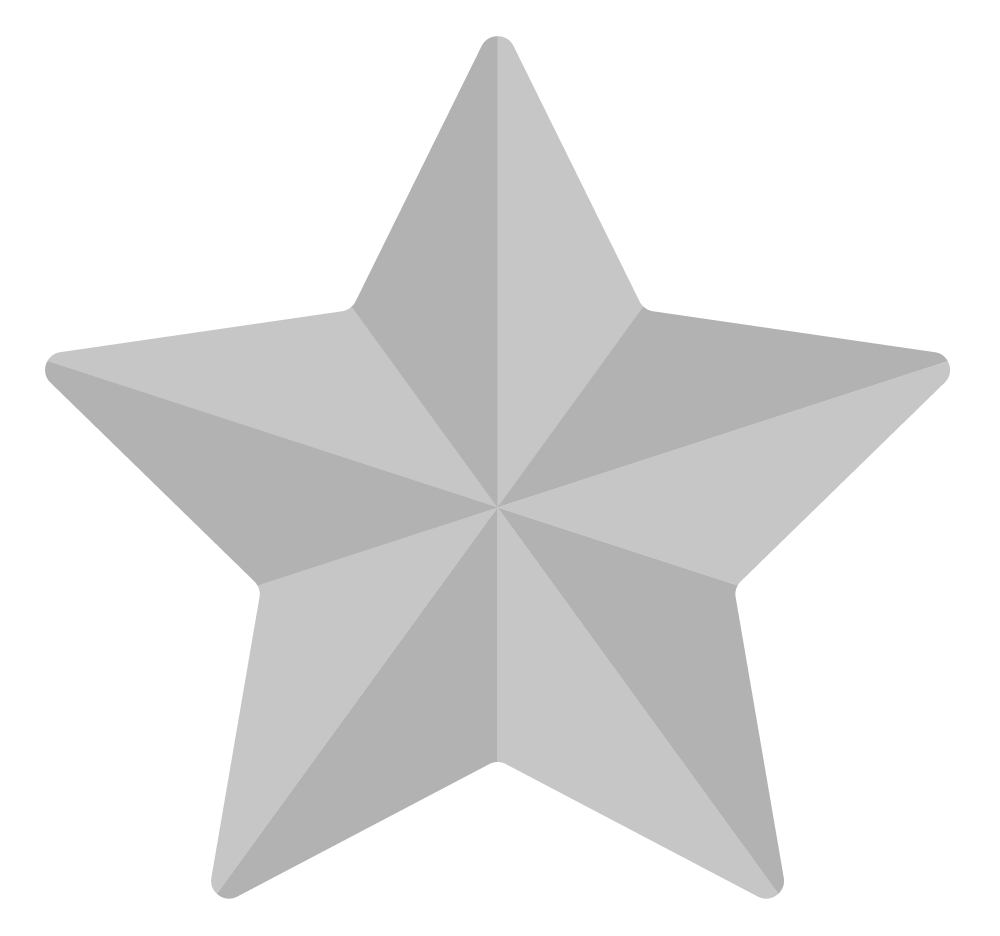 3d star clipart black and white vector free download Grey Star PNG Image - PurePNG | Free transparent CC0 PNG Image Library vector free download