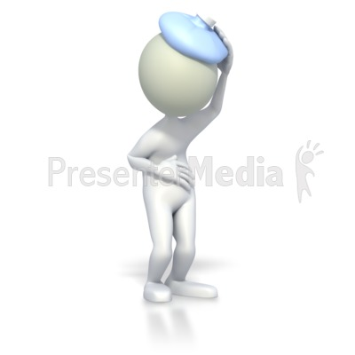 3d stick man clipart picture transparent library Sick 3D stick figure - Medical and Health - Great Clipart for ... picture transparent library