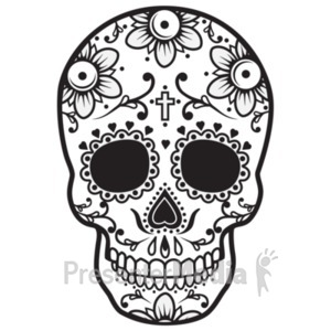 3d sugar skull clipart picture library download PresenterMedia - PowerPoint Templates, 3D Animations and Clipart picture library download