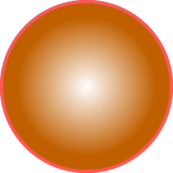Sun clipart 3d image library 3d Orange Ball Clip Art at Clker.com - vector clip art online ... image library