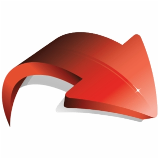 3d towards arrow clipart png library download Curved Arrow Free Vector Clipart - 3d Wavy Arrow | Transparent PNG ... png library download