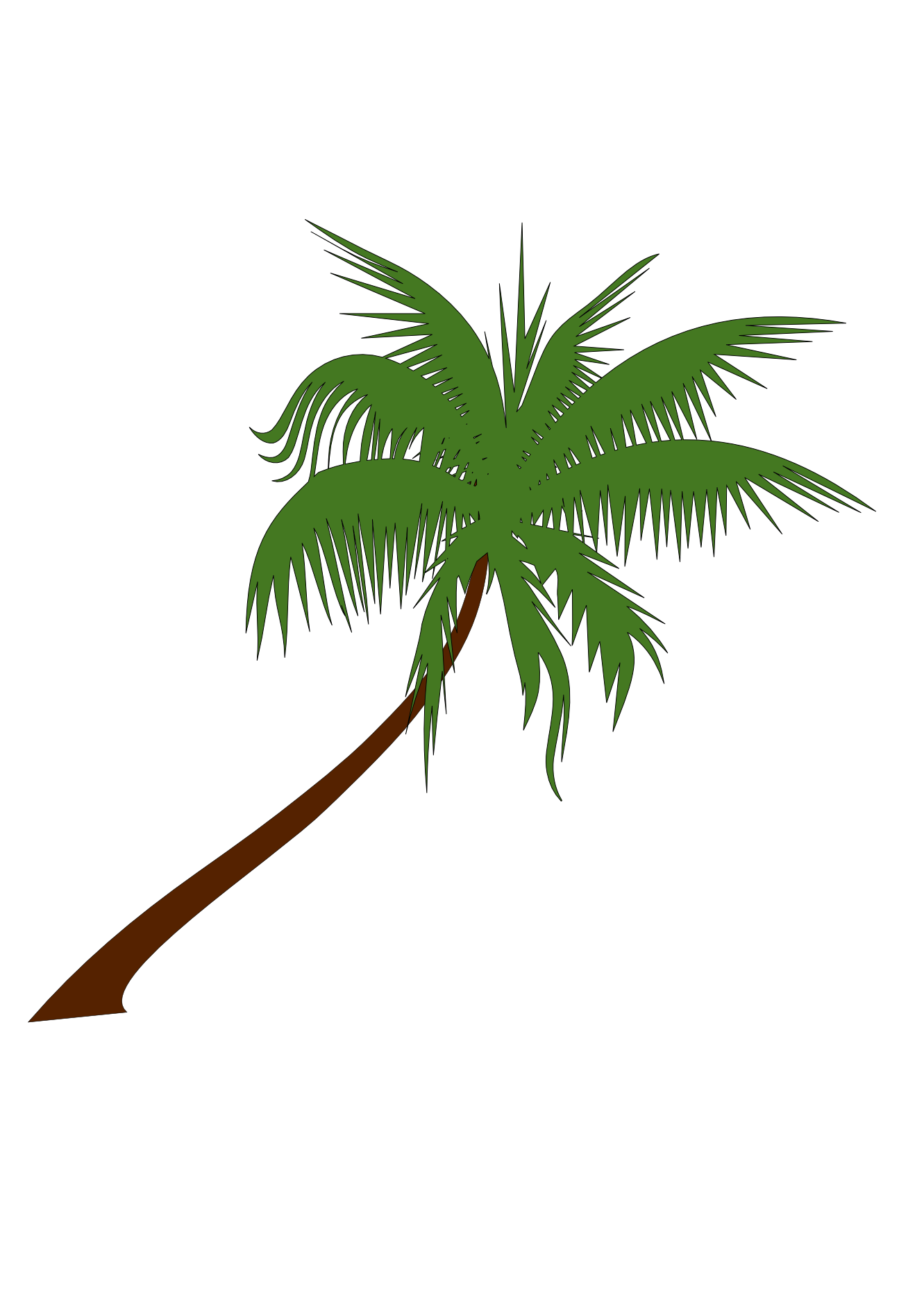Palm tree christmas clipart jpg free download Palm Tree Clip Art Png | Clipart Panda - Free Clipart Images jpg free download